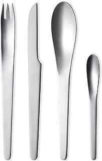 Georg Jensen Arne Jacobsen Cutlery, Boxed Set of 24 pc. Flatware