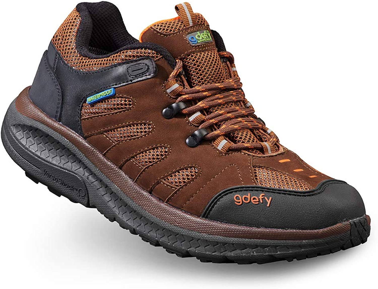 Gravity Defyer Women's GDefy Stride Lane Low Top Clinically Proven Pain Relief Hiking shoes