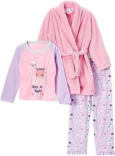 Freestyle Revolution Girls' Little Shine Bright 3PC Robe Set