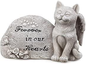 Napco Small Cat Memorial Stone