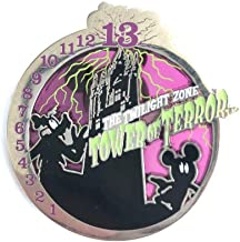 Disney Parks Tower of Terror Pin The Twilight Zone Hollywood Hotel 13th Floor