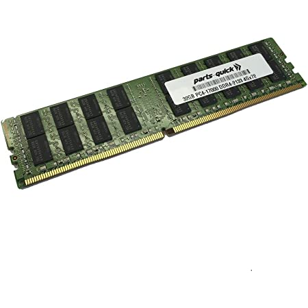 32GB Replacement Memory Module for Dell PowerEdge FC830 2RX4 2133MHz RDIMM PARTS-QUICK Brand