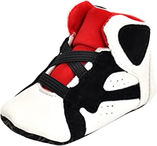 LuDa Baby Toddler Sneaker Shoes First Walk Shoes with Elastic Laces