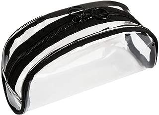Waterproof Transparent PVC Bath Cosmetic Bag Women Makeup Case Travel Zipper Makeup Beauty Wash Organizer Toiletry Storage Kit,C-White
