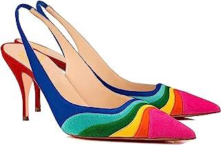 Top High Heel Stilleto Multi-Color Sneaker Sport Party Shoes Fashion Women High