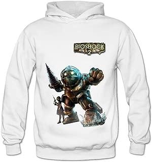 Soulya Women's Bioshock Big Daddy Swag Hoodies Sweatshirt Size US Black