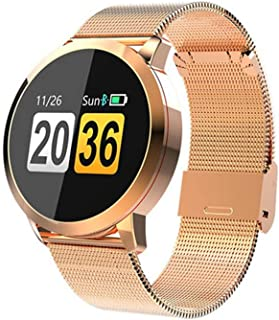 QCHNES Reloj Inteligente con Pantalla Táctil, Reloj Inteligente con Ritmo Cardíaco Inteligente, IP67, Aparatos Electrónicos, Dispositivos Portátiles, para Android Y iOS