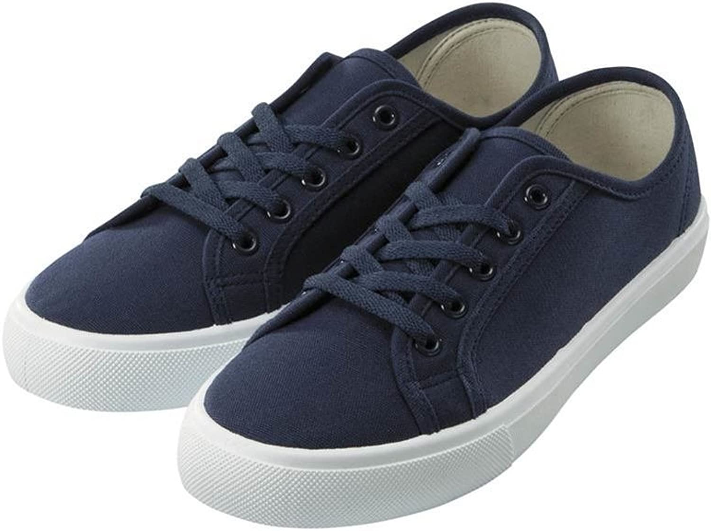 Lady,Summer,Canvas shoes Lace Up ,Flat ,Low-cut shoes