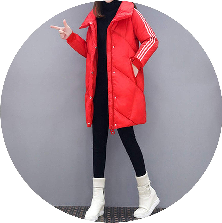 Cotton Coat Large Size Thick Winter Jacket Waist Slim Large Size Cotton Coat Winter Coat