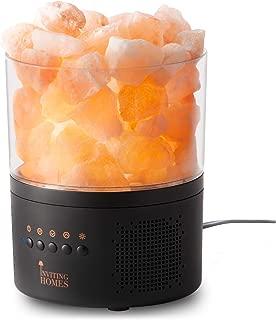 Natural Himalayan Salt Lamp Speaker w/ Bluetooth