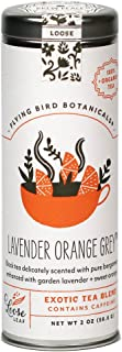 Flying Bird Botanicals - Organic Lavender Orange Grey Black Tea (Loose Leaf)