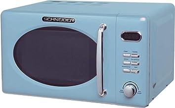 Schneider Comsumer – MW 720 Mikrowelle, eine Einschubebene, 20 Liter, 700 W, blau