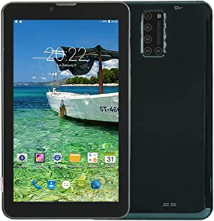 ATOUCH X12 Android Tablet 128GB, 4GB RAM 7 inch IPS HD Display, Dual SIM, 4G, Quad Core Bluetooth Wi-Fi Tablets (Black)
