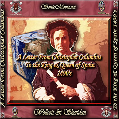 A Letter From Christopher Columbus to the King & Queen of Spain, 1490's audiobook cover art