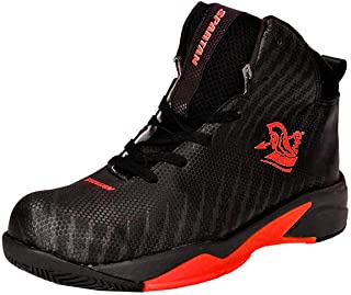 Spartan Power Black Orange Basketball Shoes