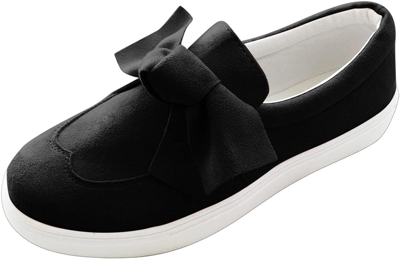 FAMOORE Low Top Cap Toe Women Sneakers Tennis Canvas Shoes Casual Shoes for Women Flats- Comfortable Walking Tennis Shoes
