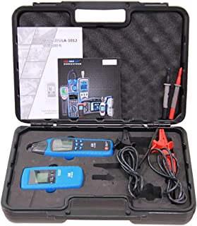 T-king LA-1012 Cable Wire Detector- Underground General Cable Fault Locator Meter Wall Wire Finder Tester Tracer