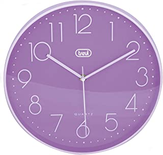 Trevi OM 3508 S Wall Clock 30 cm 30 cm Purple