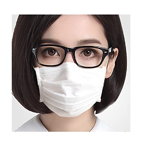 white virus masks