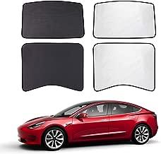 EVFIT Car Windows Sunshade Customize Tesla Model 3 Accessories