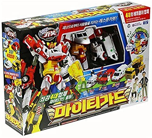 Mighty Guard-Sonokong Hello Carbot Korean Animation transformer robot Car Toy (Hyundai 4 in One) by Hello CARBOT