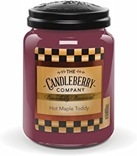 Candleberry Hot Maple Toddy 26oz. Jar