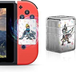 NFC ゲームカード amiibo ゼルダ ブレスオブザワイルド ゼルダの伝説 Nintendo スイッチ Wii U対応 Zelda 任天堂 24枚セットミニサイズ カードケース付き