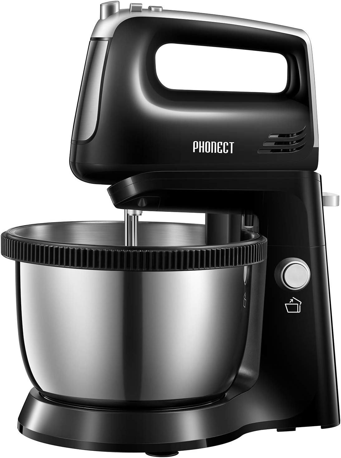 Hand Mixer Electric Detachable 3.7-Quart 返品不可 Includes Stand St テレビで話題