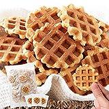 天然生活 ワッフルクッキー 40枚 焼菓子 お徳用 個包装 おやつ スイーツ サブレ 国内製造