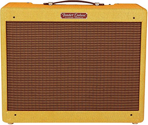 Fender '57 Custom Deluxe 12W 1x12 Tube Guitar Amp Lacquered Tweed Amps Combo Guitar
