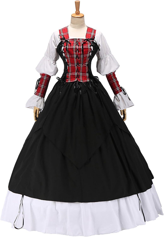 XOMO 2021 35% OFF model Gothic Lolita Renaissance Pirate Wench Gown Dress Ball