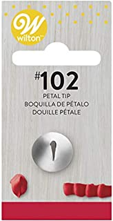 Wilton Petal Tip, 102 Carded, Stainless Steel