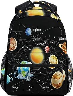 Sistema Solar Mochila Escolar para niños niñas niños Bolsa de Viaje Bookbag