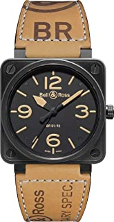 NEW BELL & ROSS HERITAGE AUTOMATIC XL WATCH BR 01-92 Heritage