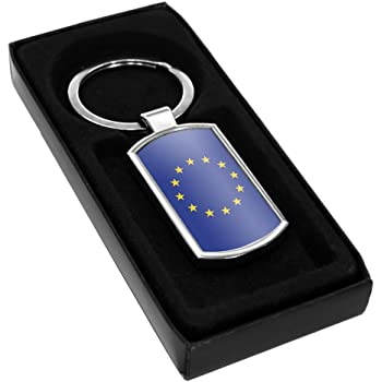 Duke Gifts European Union Flag Metal Keyring 068
