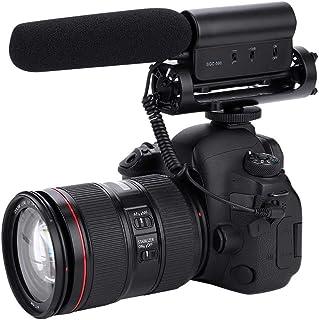 Microfoon voor fotografie-interview, hooggevoelige condensatormicrofoon, Camera-interviewmicrofoon met ruisonderdrukkingsf...