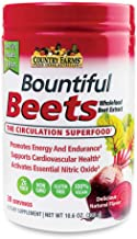 Country Farms Bountiful Beets Circulation Superfood, Delicious Natural Flavor 10.6 Ounces Each (9)