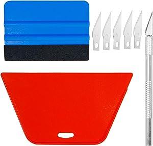 Art3d Smoothing Tool Kit for Applying Peel and Stick Wallpaper, Vinyl Backsplash Tile