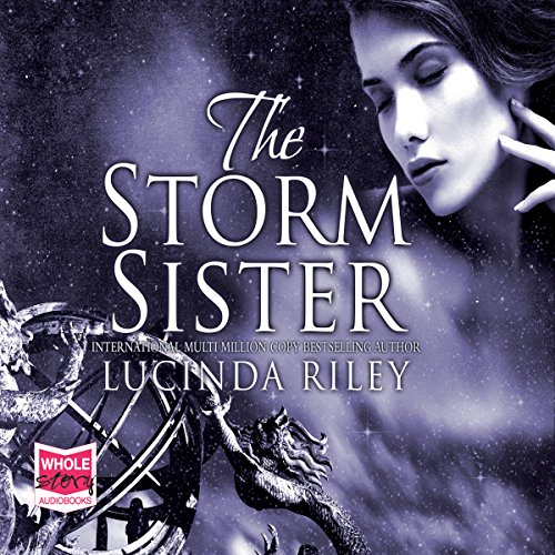 The Storm Sister audiobook cover art