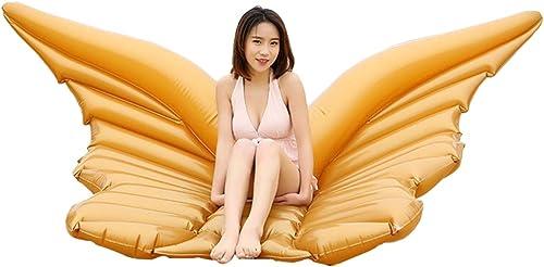LSQR Sommer Riesen Engelsflügel Aufblasbare Pool Schwimm Luftmatratze Faule Wasser Party Spielzeug Reiten Schmetterling Schwimmen Ring Piscina Spielzeug