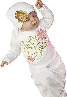 baby girl coming home sleeper