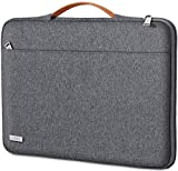 TECOOL Laptop Hülle Tasche für 2018-2020 MacBook Air/Pro 13 Zoll, 12.3 Surface Pro, Dell XPS 13, HP Envy 13, 12,9 iPad Pro Tablet Sleeve Notebooktasche mit Handgriff, Dunkelgrau