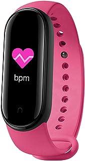 WT-YOGUET M5 Sport Fitness Smartband Pulsera inteligente de presión arterial y frecuencia cardíaca