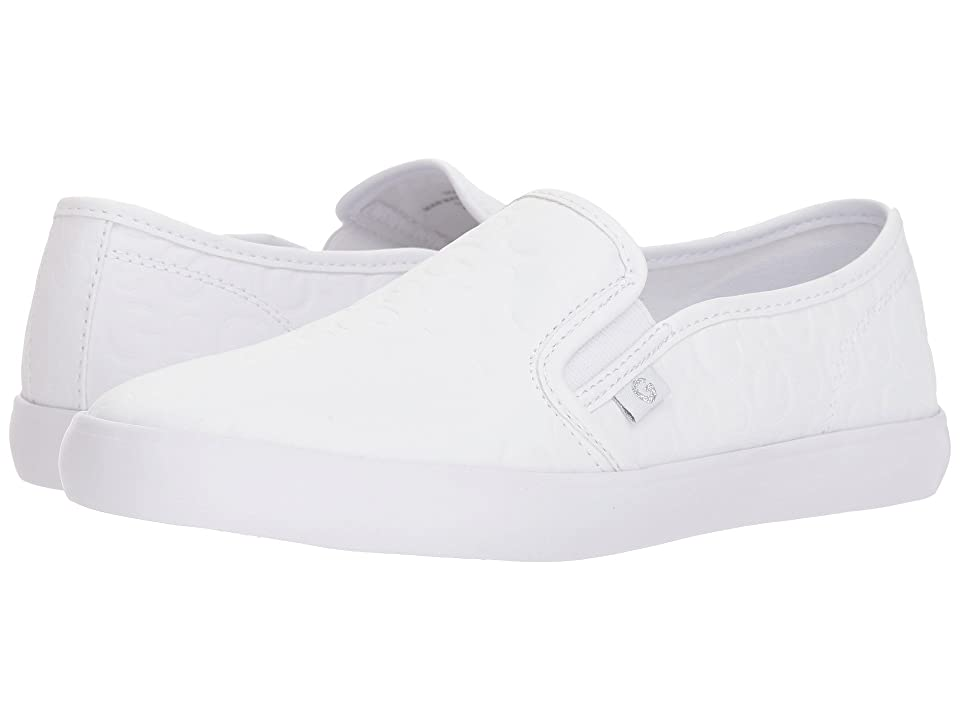 G by GUESS Malden (White Embossed Logo) Women