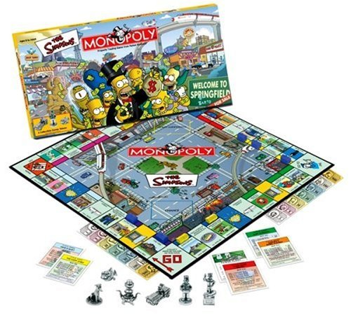 Monopoly The Simpsons Edition by Hasbro