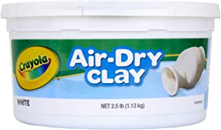 Crayola 1.13kg Air Dry Clay, White Colour, Sculpt, Model, Design, Easy to Use, Great for Art Projects!
