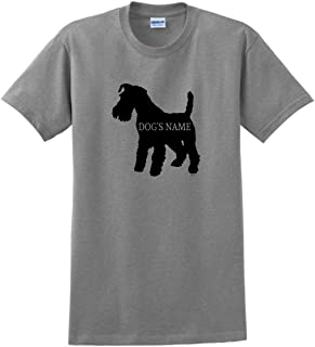 Personalized Schnauzer Gifts Add Dog's Name Custom T-Shirt