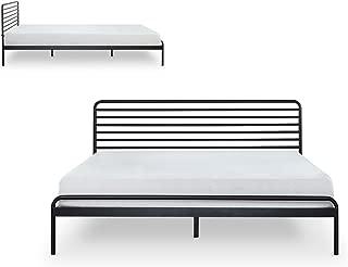 Zinus Tom Metal Platform Bed Frame / Mattress Foundation / No Box Spring Needed / Wood Slat Support / Design Award Winner, Twin