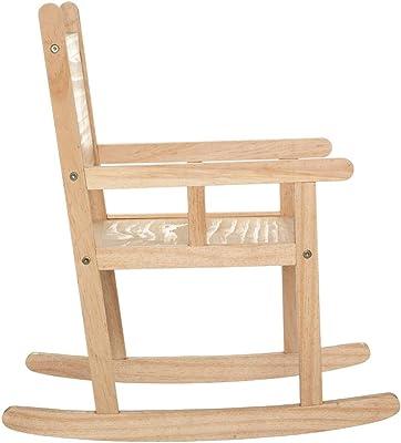Chaise à Bascule en Bois Atmosphera for Kids