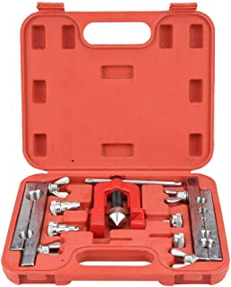Pipe Expander, Alloy Steel 3-16mm Manual Copper Heads Tube Pipe Expander Flaring Tool Swaging Kit with Storage Case for Air Conditioning/Air Heater/Refrigerator Maintenance